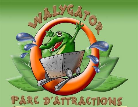 Photo : 100 invitations parc Walygator