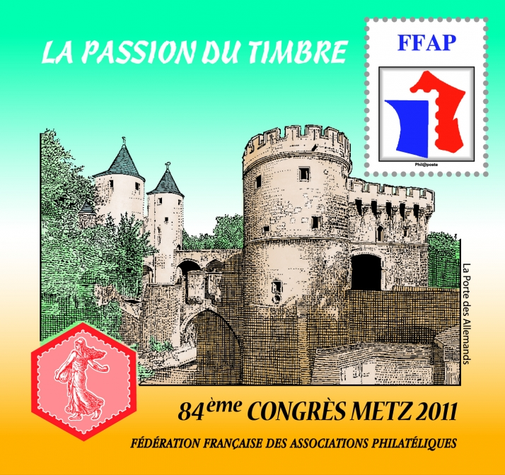 84e congr s national de philat lie metz 2011 for Adresse metz expo