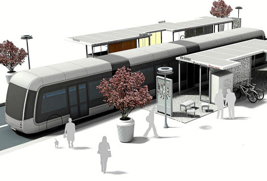 Photo : Mettis futur moyen de transport messin