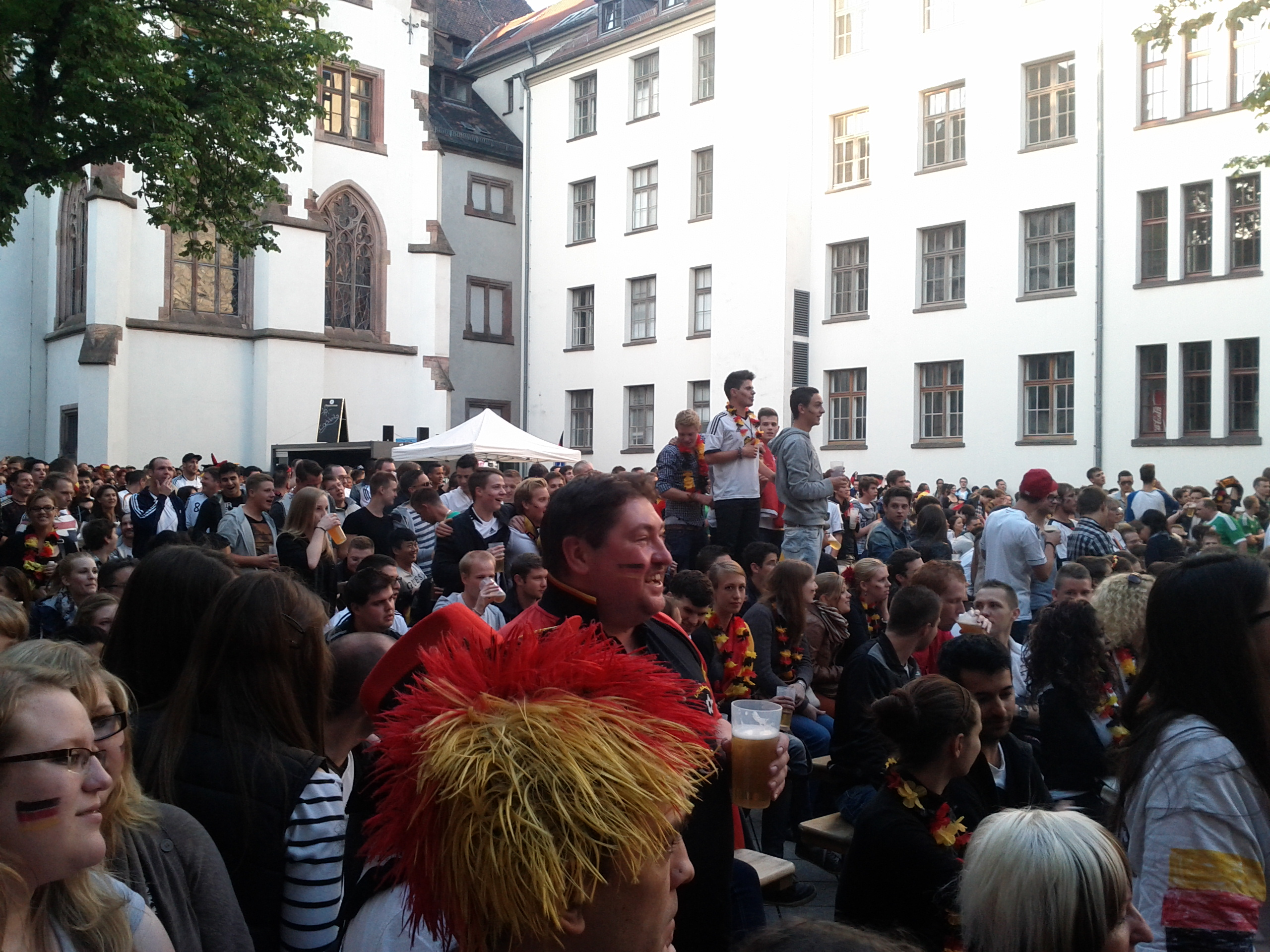 Photo : Allemagne-Grèce ambiance à chaud