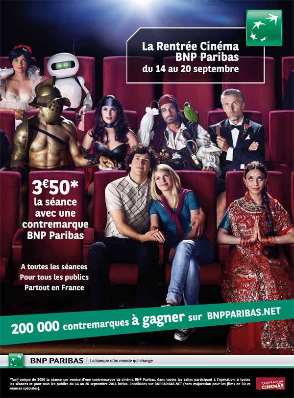 Photo : Bon plan Ciné - La Rentrée du Cinéma BNP Paribas