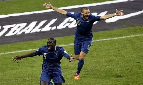 Photo : France 3-0 Ukraine - C'était magique