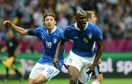 Photo : Espagne - italie en finale de l'Euro 2012
