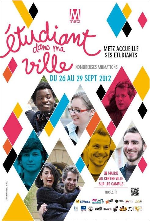 Photo : Etudiant dans ma ville édition Metz 2012