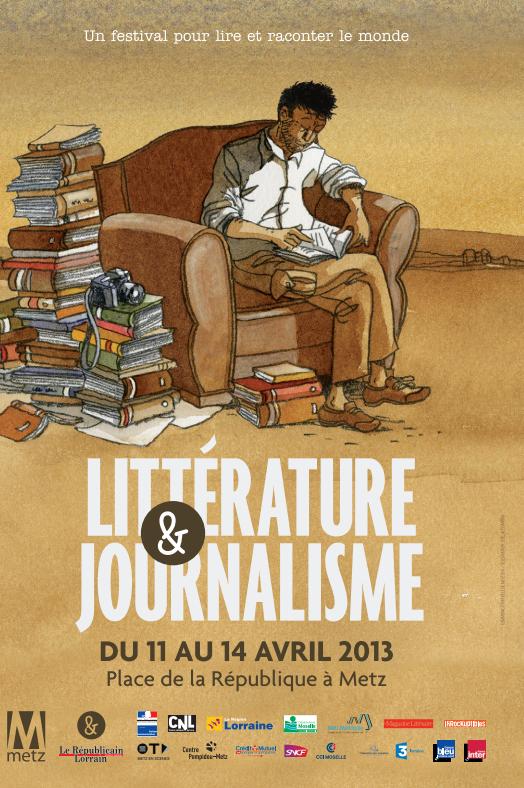 Photo : Festival Littérature et Journalisme Metz 2013
