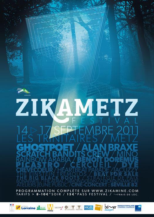 Photo : Festival Zikametz une réunion des groupes régionaux