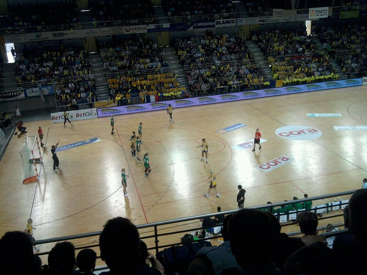 Photo : Handball : Metz 27 - 31 FTC Budapest