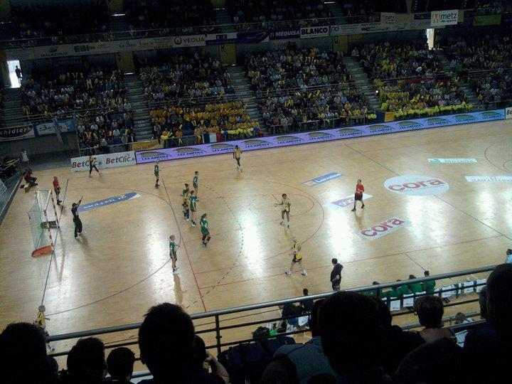 Photo : Handball : Metz 27 - 31 FTC Budapest