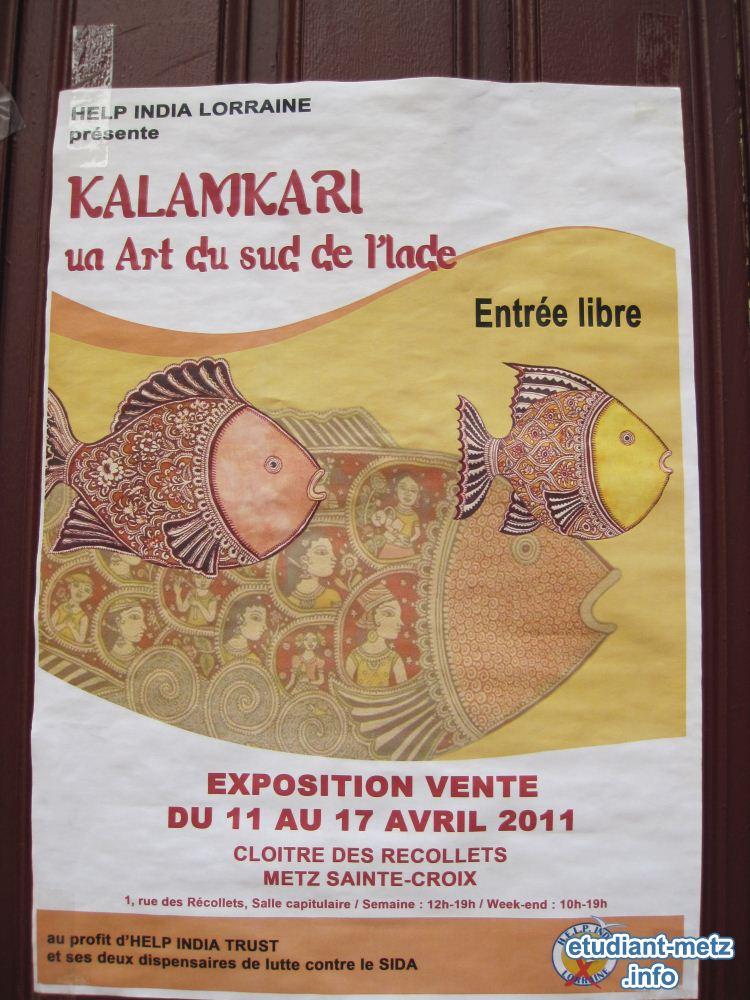 Photo : Photos Expo Art indien Kalamkari