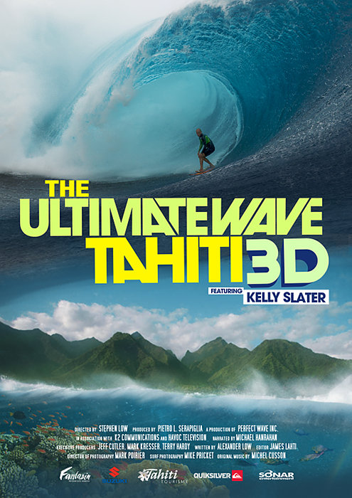 Photo : Kelly Slater en 3D à l'Imax