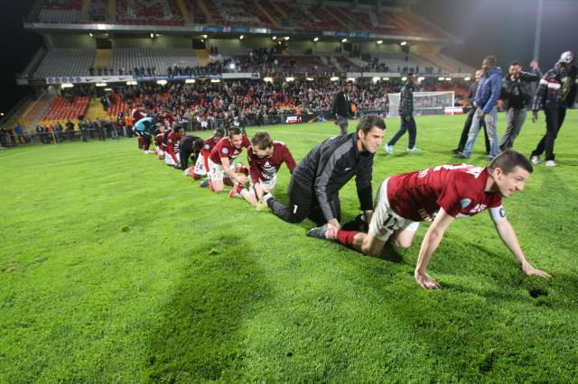 Photo : Le FC Metz de retour en Ligue 2