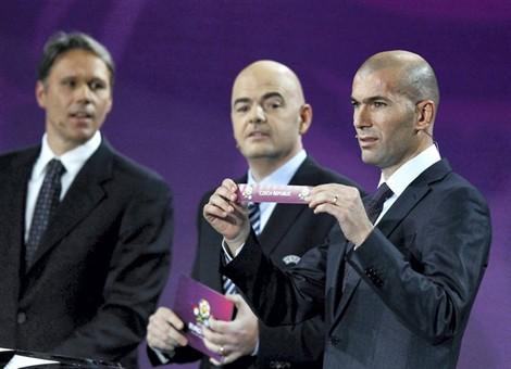 Photo : Tirage au sort Euro 2012