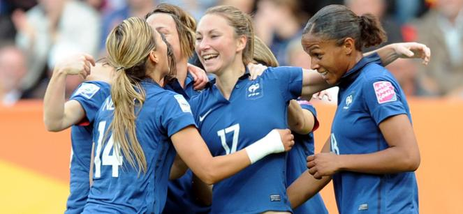 Photo : Les bleues en demi finale de coupe du monde