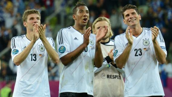 Photo : Portugal et Allemagne - les favoris en demi de l'Euro 2012