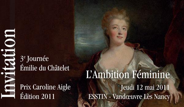 Photo : Journée Emilie du Châtelet 2011
