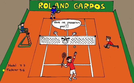 Photo : Roland Garros : Nadal roi pour la 6e fois !
