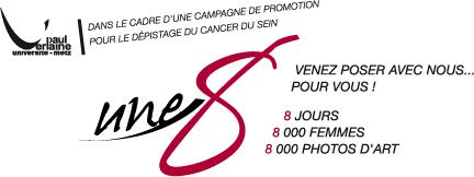 Photo : Shooting photo des femmes contre le cancer du sein à Metz