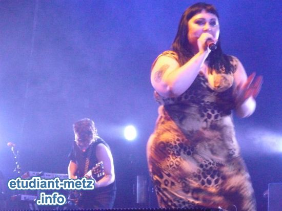 Photo : The Gossip en concert - Une potion magique