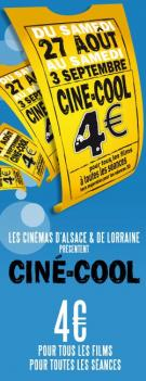 Photo : Ciné Cool 2011 c'est ta place de ciné à 4 euros