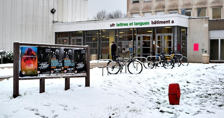 Photo : UFR Lettres et langues